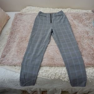 Tiger Mist Charlie Gray Plaid Pant